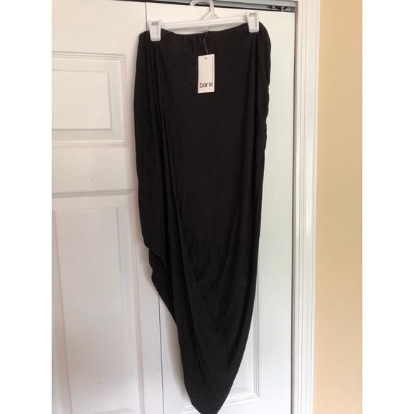 Bar III Dresses & Skirts - Black Midi Maxi Skirt